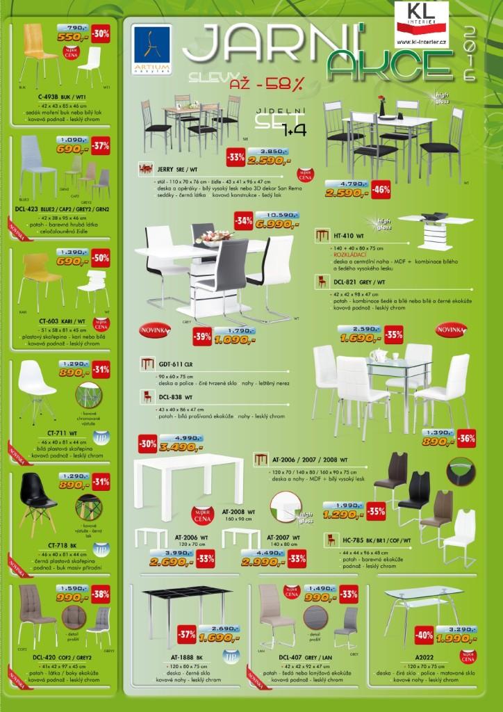 Kuchyně Zlín Židle 2